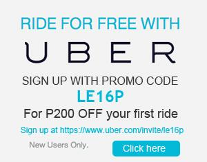 Uber Manila Free Ride