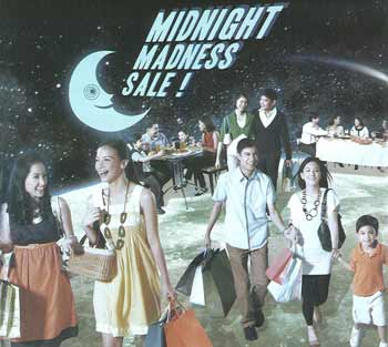 Glorietta and Greenbelt Double Midnight Madness Sale
