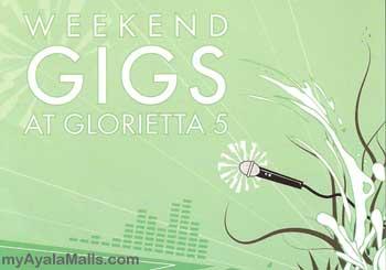 Weekend Gigs at Glorietta 5