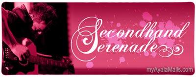 Secondhand Serenade Live at the Ayala Malls