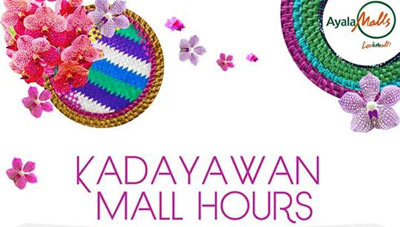 Kadayawan Mall Hours