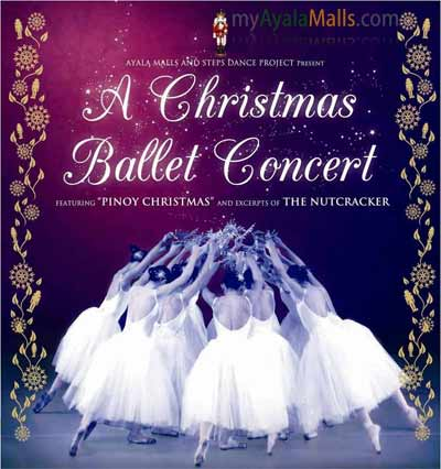 A Christmas Ballet Concert: The Nutcracker Live at The Ayala Malls