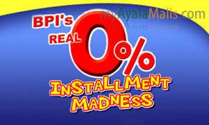 BPI Installment Madness, November - December 2010